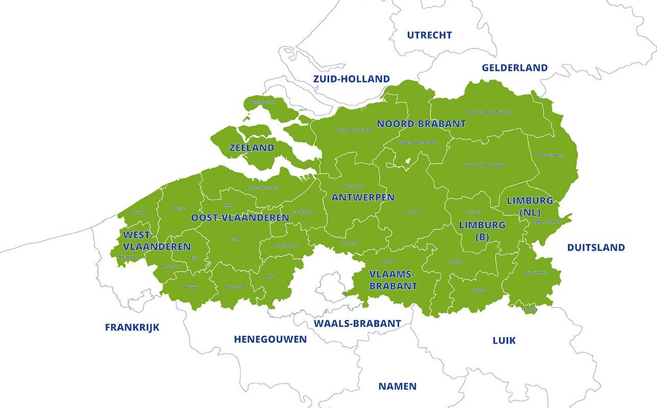 Interreg Flanders the Netherlands region